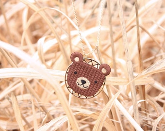 Necklace bear