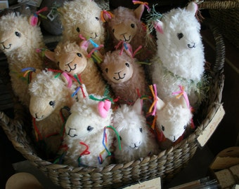 RESERVED - Adopt a llama, Little Llama Decorated with Tassles, Mystery Llama with Adoption Certificate, Lucky Dip