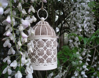 Bird Nester, Llama Fibre. Nesting Material to Attract Native Birds to your Garden. Outdoor lantern, Birthday Gift Idea. Gift for Mum