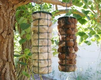 Bird Nester, Llama Fibre Bird Nesting Material, Garden Isolation Backyard Gift Idea, Gift for home gardener, Natural Bird house filler