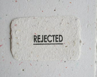 REJECTED A5 Sheets, Scrap Neutral Toned Recycled Paper, Hand made Paper Seconds, 15 Imperfect Paper Sheets, Remnants
