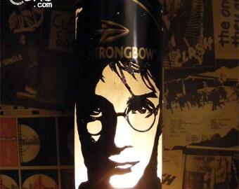 Harry Potter Beer Can Lantern: Daniel Radcliffe, J.K. Rowling Pop Art Lamp - Unique Gift!
