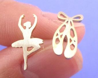 pressed flower earrings dangle female body flower ballerina pressed women shaped unique earrings dangle ballet dancer