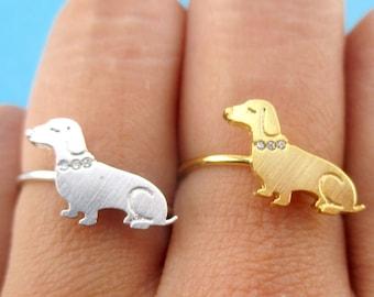 Gold Silber 1 Pc Dackel Halskette Dackel Schmuck Hund Halskette Dackel Anhänger Silber Pet Doxie Halskette Wurst Hund Liebhaber Halsketten & Anhänger