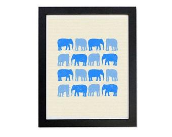 blue, elephant wall art, elephant, elephant nursery, elephant nursery art,nursery decor boy elephant,kids room decor,bedroom decor,printable