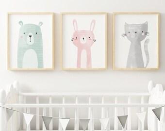 nursery wall art etsy