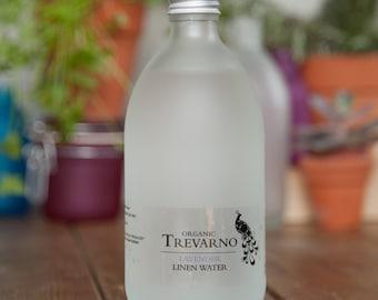 Organic Trevarno Lavender Linen Water