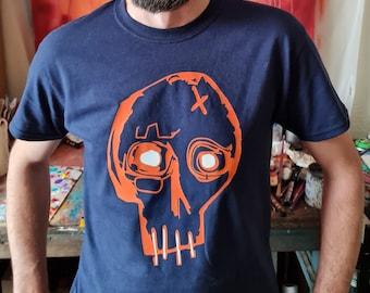 Limited edition Orange Skull Tee