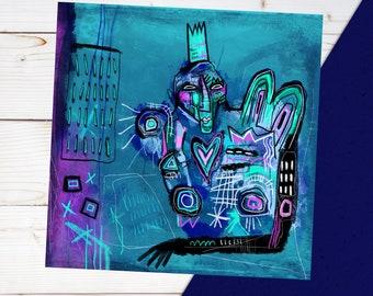 Frushka. Street Art / Graffiti style artwork. Signed print