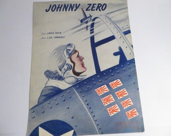 Mid Century Johnny Zero Patriotic Sheet Music
