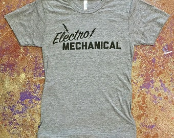 Electro Mechanical Tee-American Apparel Tri-Blend