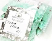 Mecca Lecca Hi ~ Pee-Wee's Playhouse inspired bath salt