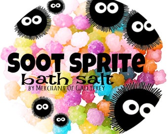 Soot Sprite bath salt