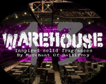 Warehouse 13 artifact inspired solid fragrances