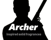 Archer inspired vegan solid fragrances