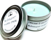 Be Excellent To Each Other ~ Wyld Stallyns (Bill & Ted inspired) soy candle