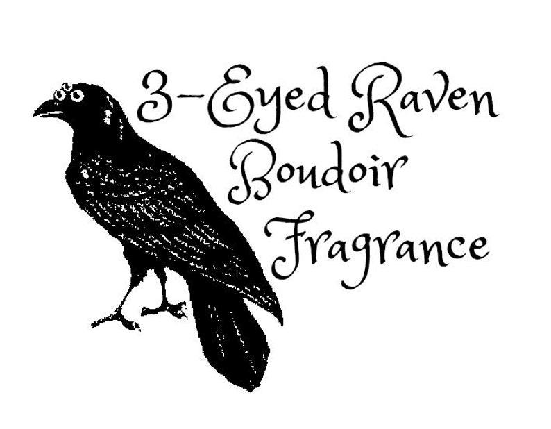 3-Eyed Raven Game Of Thrones inspired boudoir fragrance image 0