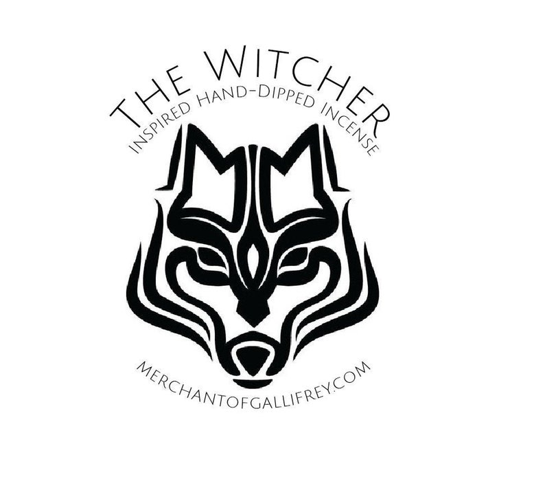 The Witcher inspired hand-dipped incense by Merchant Of image 0
