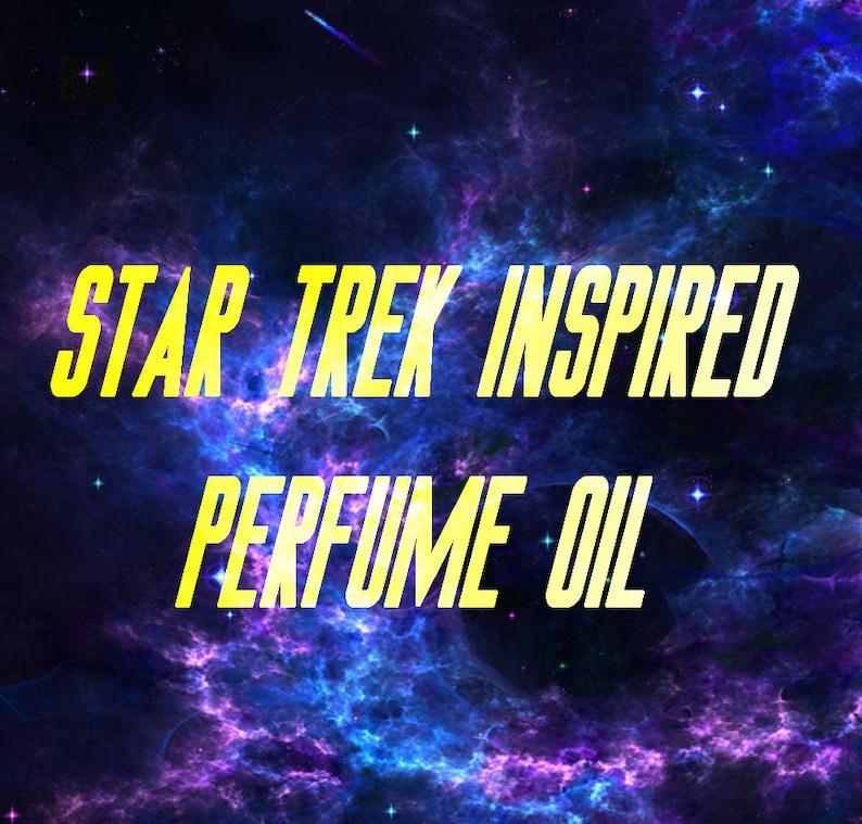 Star Trek inspired perfume oil spritz image 0