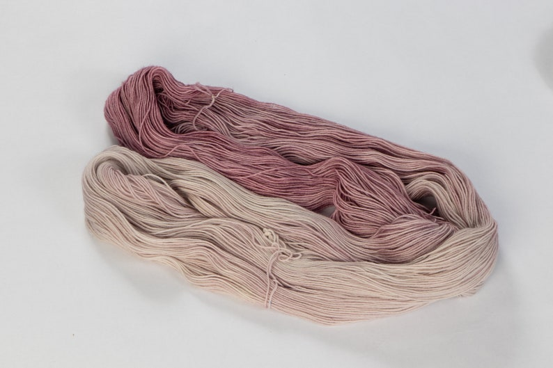 worsted fingering bulky Dyed to Order : Plum Blossom chunky aran sport dk