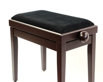 Antique Furniture Striking Art Nouveau Piano Stool With Adjustable Height Buy One Get One Free