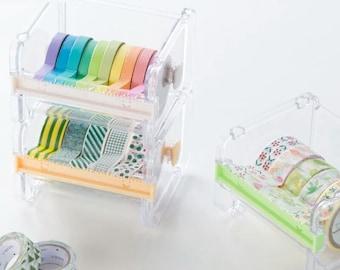 Washi Tape Dispenser Storage Unit