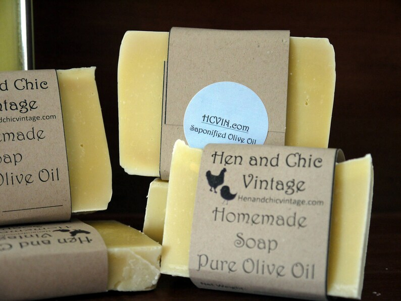 Homemade Organic Pure Extra Virgin Olive Oil Soap Unscented and No Artificial Co... Homemade Organic Pure Extra Virgin Olive Oil Soap Unscented and No ...