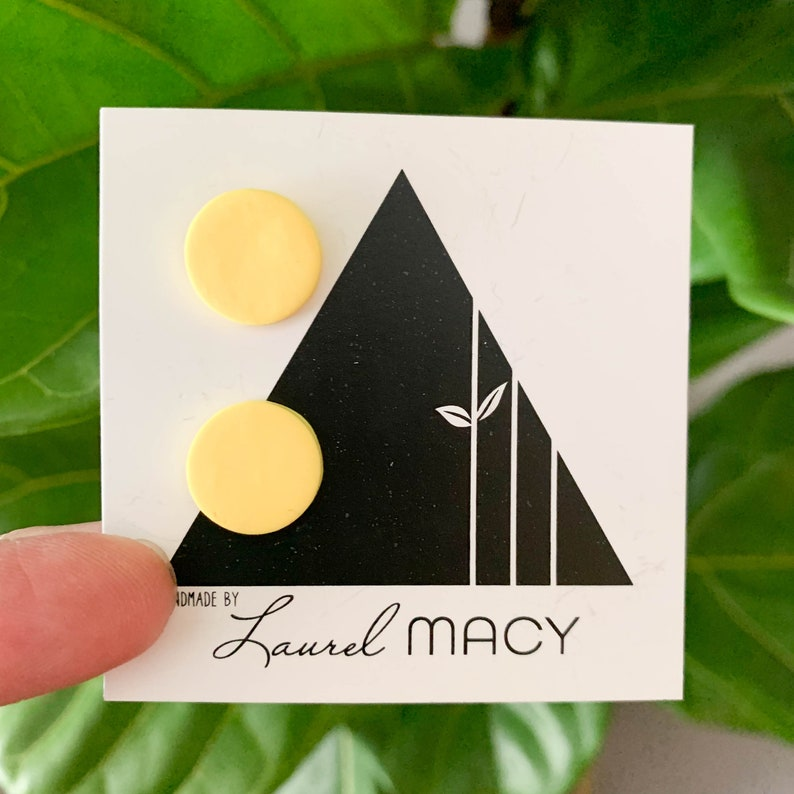 One of a Kind Laurel Macy Classic Studs Earrings 0443 image 0