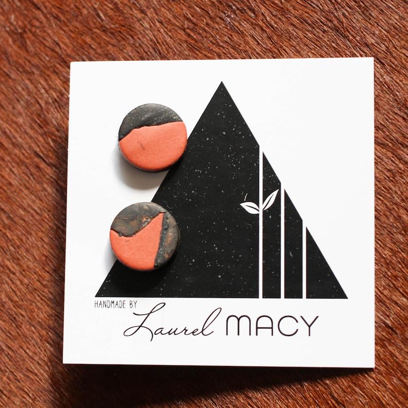 One of a Kind Laurel Macy Classic Studs Earrings 0472 image 0