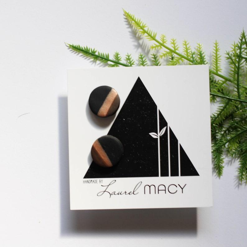 One of a Kind Laurel Macy Classic Studs Earrings 0476 image 0