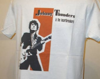 Johnny Thunders And The Heartbreakers Printed T Shirt - Music Retro Glam Punk Rock - New W140 Mens Womens Tee