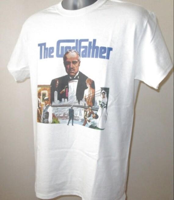 The Godfather Il Padrino T Shirt 70s Classic Mafia Film W262 Goodfellas Scarface
