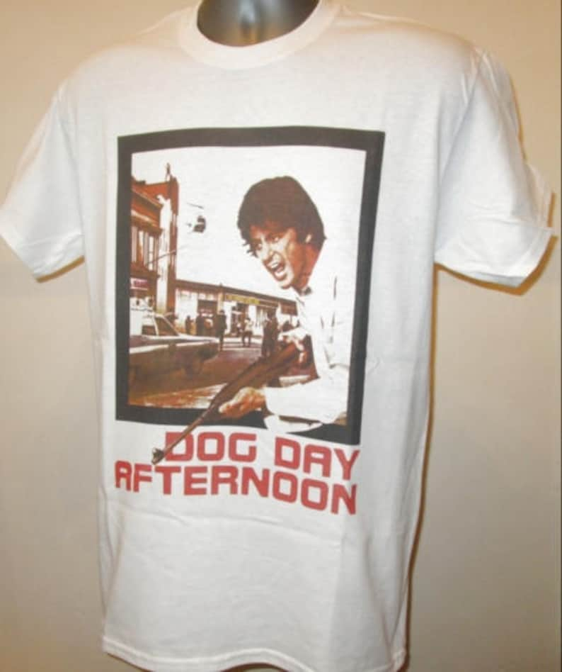 4269124cd Dog Day Afternoon Printed T Shirt Retro 70s Bank Robbery | Etsy