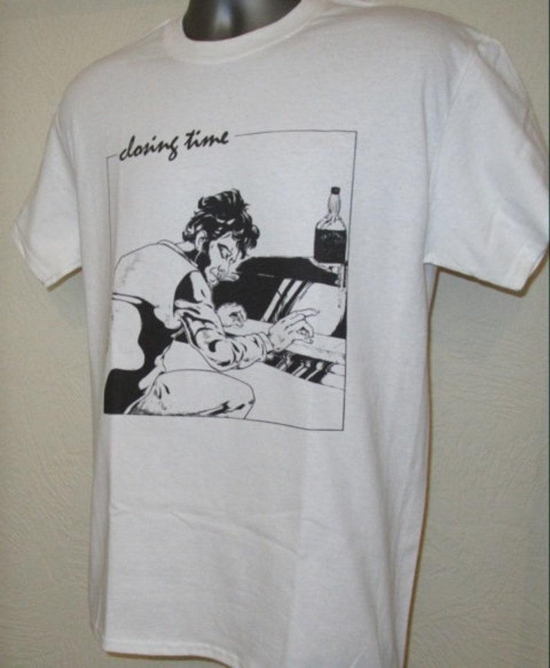 8653073d76e9 Closing Time Printed T Shirt Music Piano Jazz Retro Blues