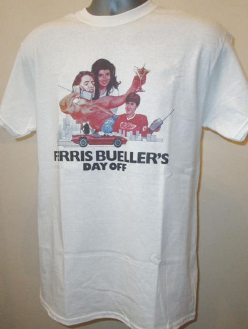 938d81b7609794 Ferris Bueller's Day Off Printed T Shirt Retro 80s Teen | Etsy