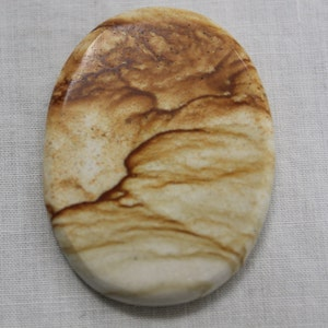 Lace Agate Cabochon for Wire Wrapping Lapidary Artist Craft Supplies Utah Rock Shop Rockinon Oval Style Cabochon Natural Stone Cabochon