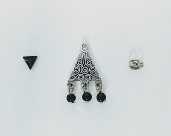 Ear Jacket Equilateral / silver