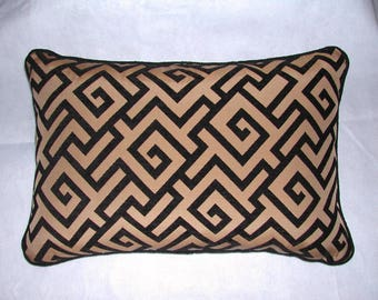 Grecian Key Pillow