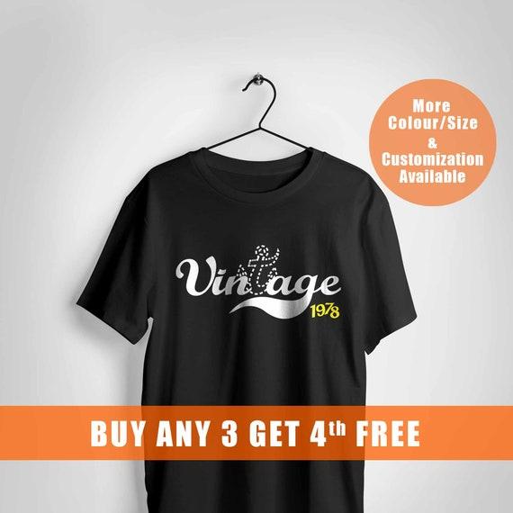 40th birthday gift, gift, gift, anchor tshirt, birthday tshirt, vintage,1978,, 3f6900