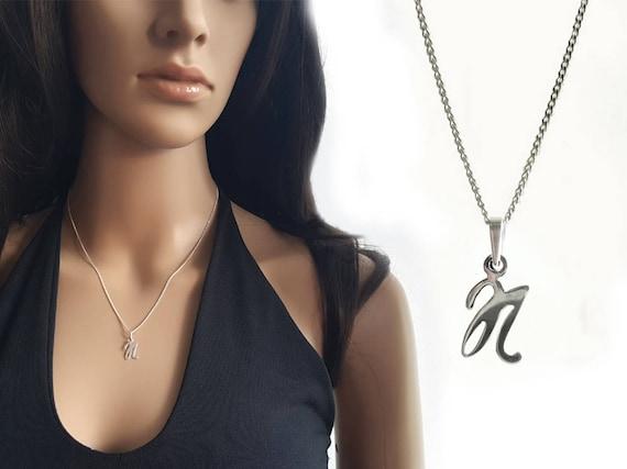 "The Letter /""D/"" 925 Sterling Silver Pendant Corona Sun Jewelry d"