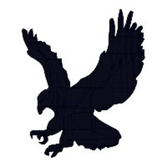 BUY 2 GET 1 FREE American Eagle Silhouette Filled Machine   Etsy