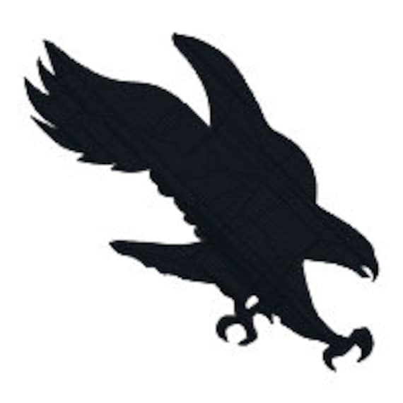 BUY 2 GET 1 FREE Silhouette Eagle Machine Embroidery Design