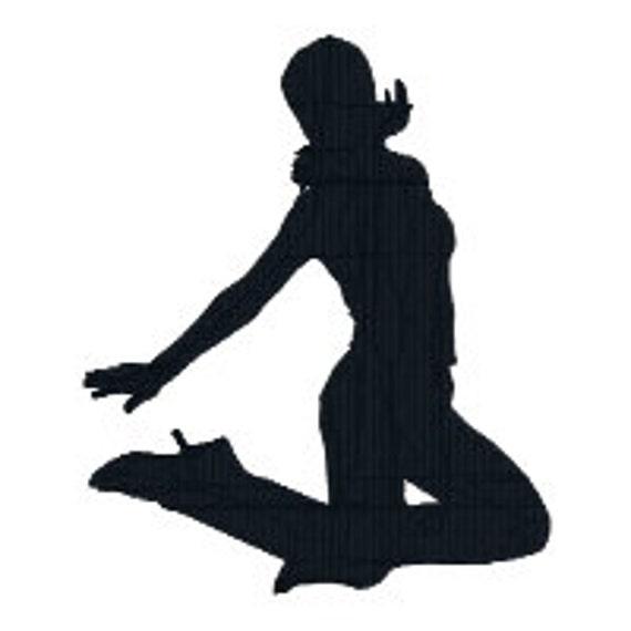Buy 2 Get 1 Free Jazz Dancer Silhouette Dance Machine Etsy