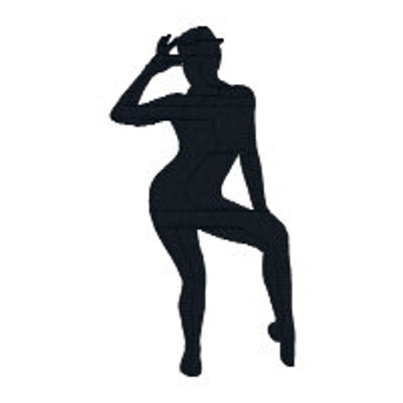 Buy 2 Get 1 Free Jazz7 Dancer Silhouette Machine Etsy