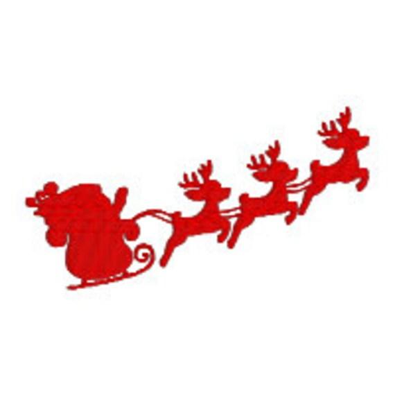 COMPRAR 2 OBTENER 1 GRATIS trineo de Santa Claus con renos | Etsy
