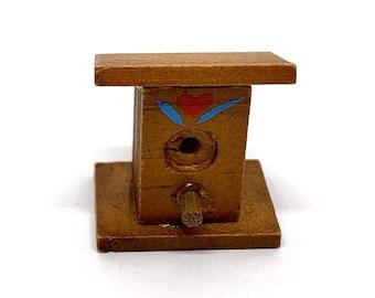Christmas Birdhouses Crafts.Miniature Birdhouse Etsy