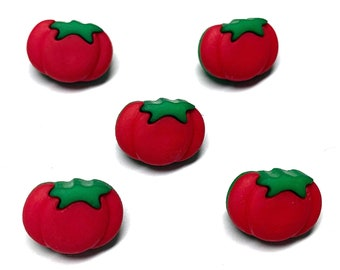 4 tomato Buttons