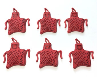 Buttons Galore  Novelty Kitchen Cooking Embellishments Oven Mitt Buttons
