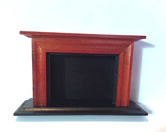 Outstanding Miniature Fireplace Etsy Home Interior And Landscaping Mentranervesignezvosmurscom
