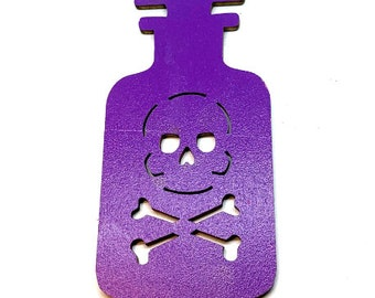 Miniatures Witches Potion Embellishments Wood Flat Back HBOX 2